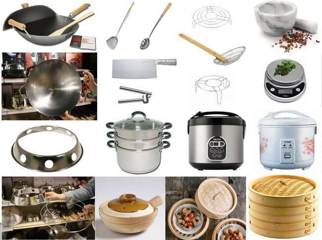Chinese Cooking Tools, by thewoksoflife.com