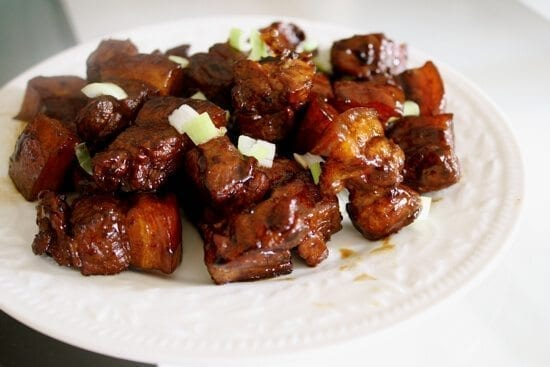 shanghai style braised pork belly hong shao rou