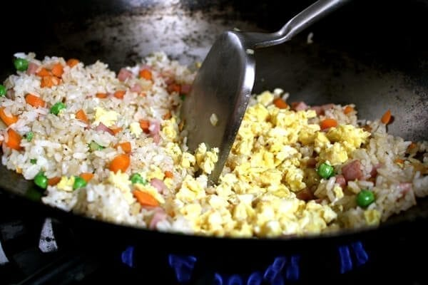 Chinese Banquet Fried Rice by thewoksoflife.com