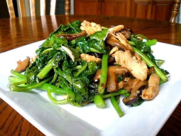 Chicken and Chinese Broccoli Stir Fry, by thewoksoflife.com