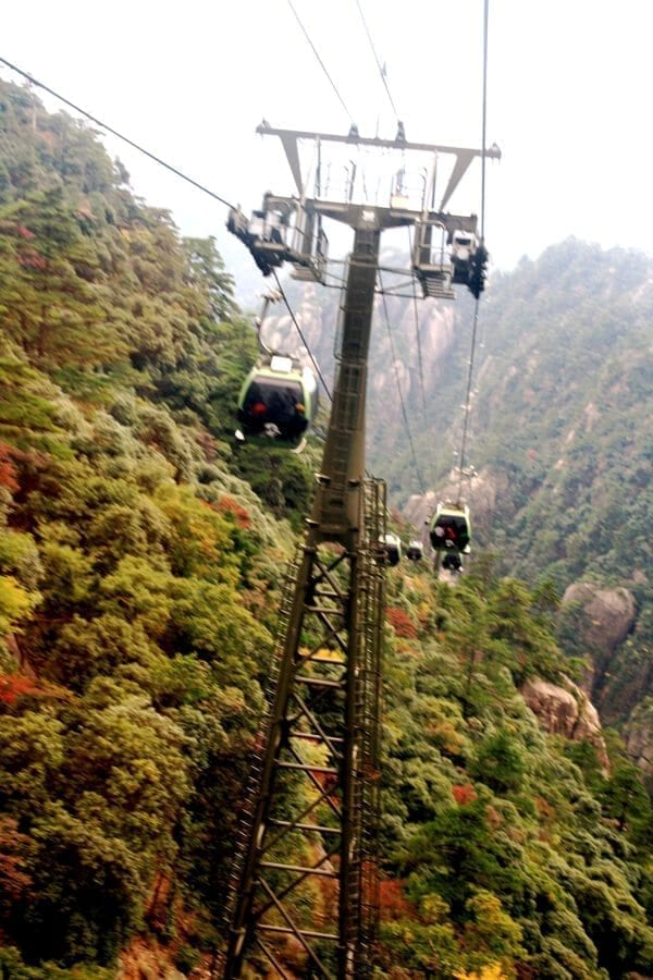 huangshan-cable-car