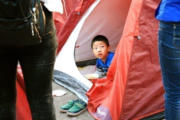 huangshan-tents