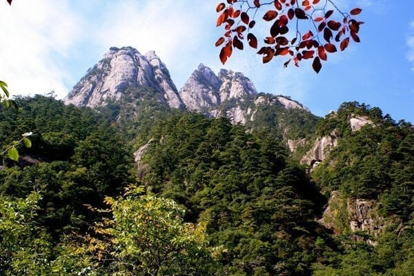 huangshan-view