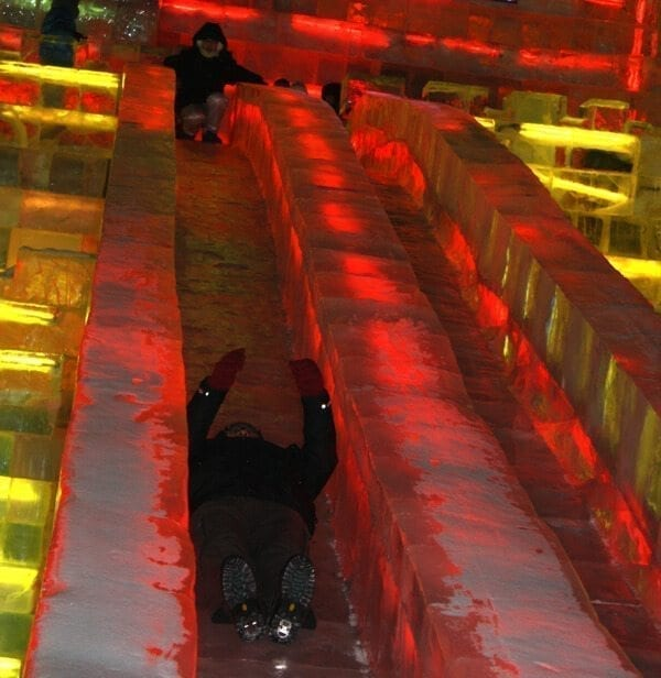 ice-slide-harbin - Harbin Ice Festival and Freezing our Butts Off! by thewoksoflife.com