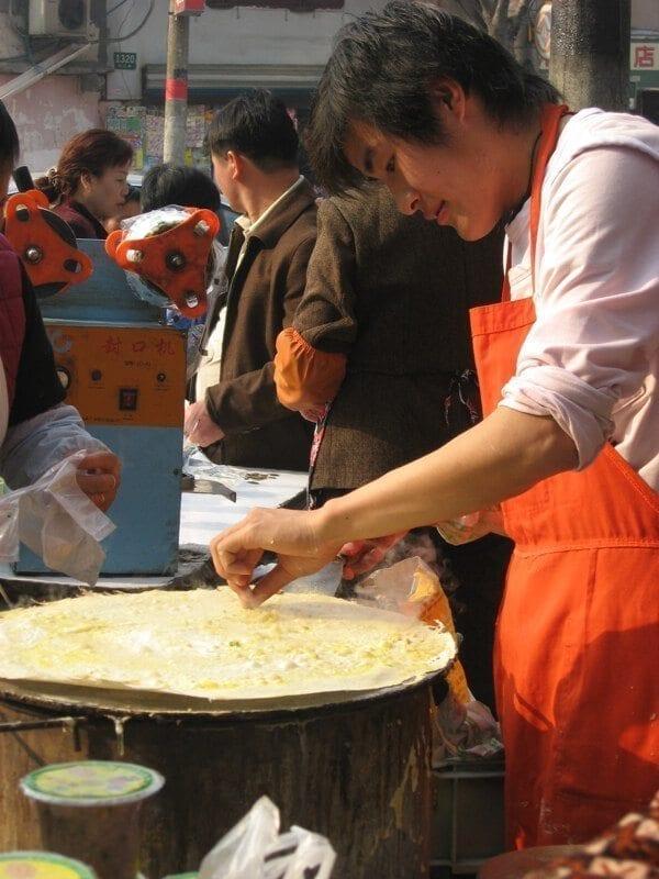 The Jian Bing Breakfast Experience, by thewoksoflife.com