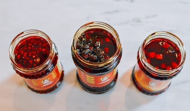 Different types of Lao Gan Ma Sauce, thewoksoflife.com