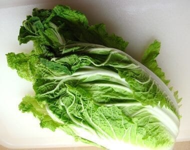 Chinese vegetables: napa cabbage, by thewoksoflife.com