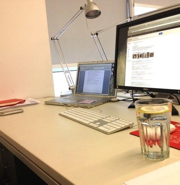 My beijing office life.