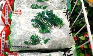 Chinese Vegetables: shepherds purse, by thewoksoflife.com