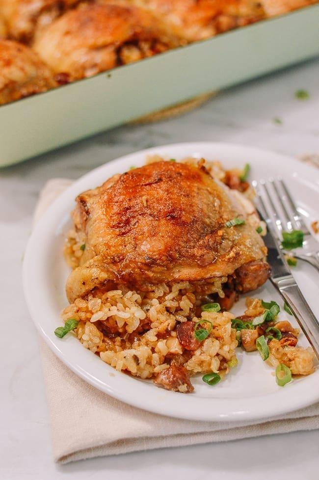 Sticky Rice Chicken, thewoksoflife.com