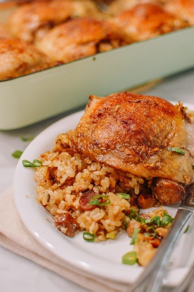 Chinese Sticky Rice Chicken, thewoksoflife.com