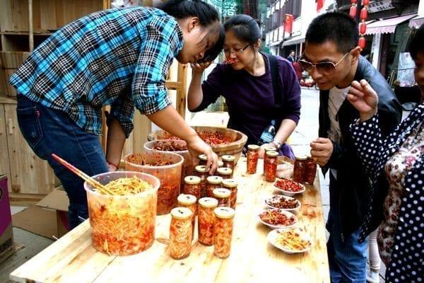 tunxi ancient street chili sauce
