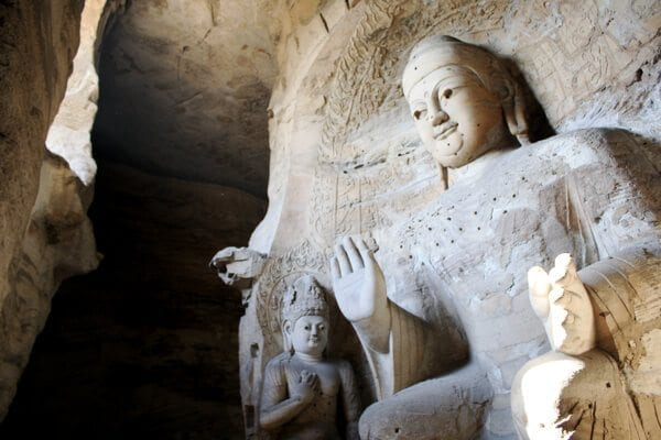 YUNGANG GROTTOES AND THE HANGING TEMPLE