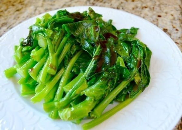 Chinese Broccoli with Oyster Sauce, by thewoksoflife.com