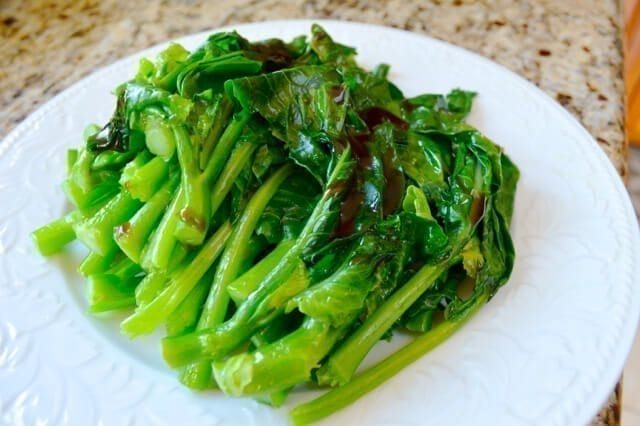 chinese broccoli oyster sauce