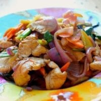 Chicken and Thai Basil Stir-Fry