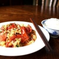 Chinese Stir-Fried Tomato and Egg
