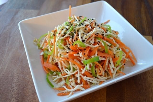 asian tofu salad cold tofu salad chinese tofu chinese style shredded ...