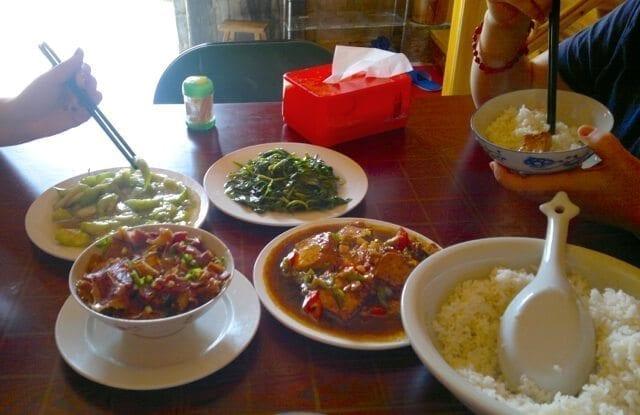 hongcun dinner