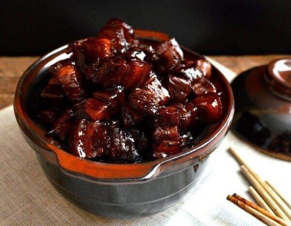 Shanghai Cuisine - hong shao rou - Shanghai braised pork belly