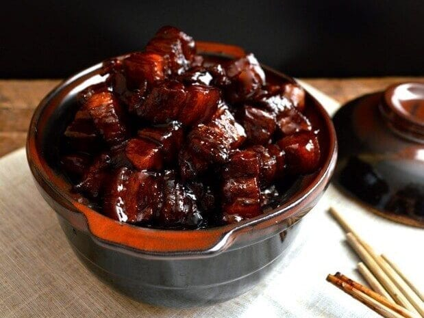 Shanghai Cuisine - hong shao rou - Shanghai braised pork belly
