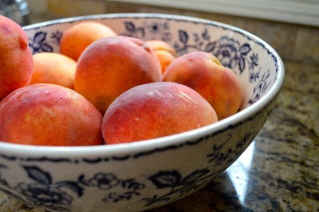 peaches summer