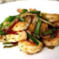 Scallion and Ginger Shrimp