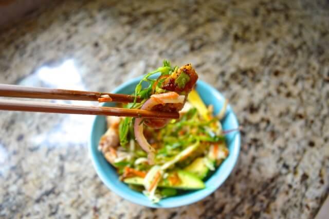 thai salad lime peanut