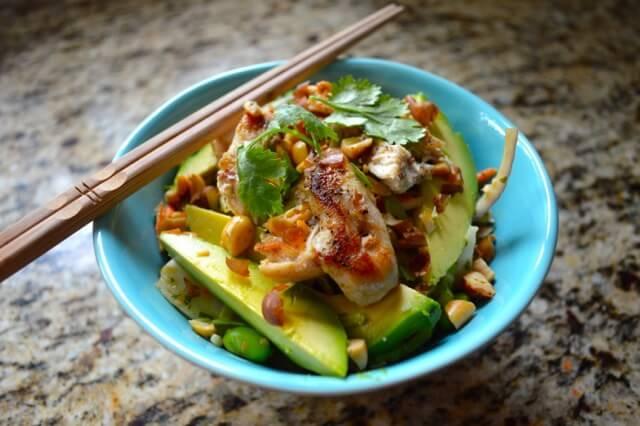 thai salad peanut lime