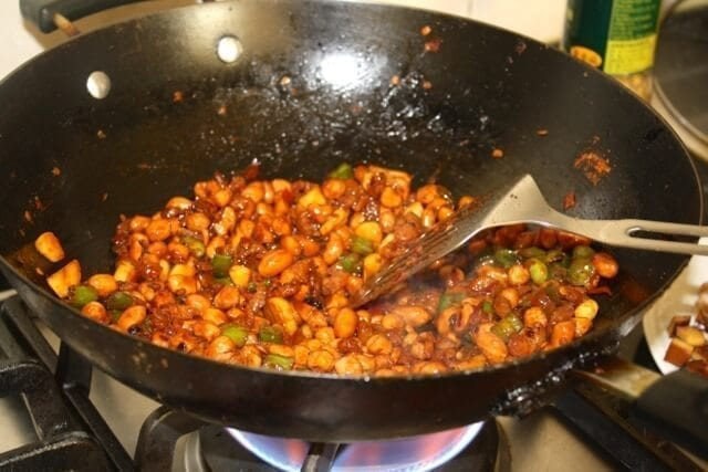 8 treasures  - Chinese Spicy Eight Treasures Stir Fry, by thewoksoflife.com