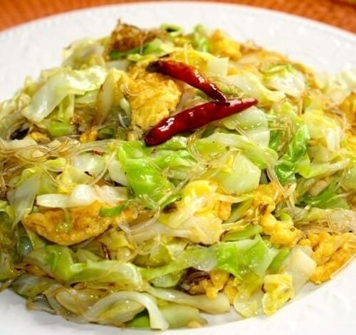 Cabbage And Glass Noodle Stir Fry The Woks Of Life