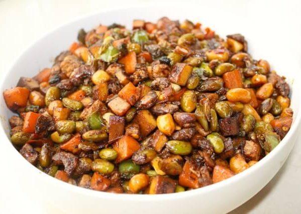 recipe eight treasures - Chinese Spicy Eight Treasures Stir Fry, by thewoksoflife.com