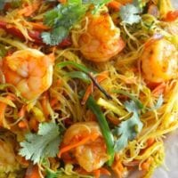 Singapore Noodles (Singapore Mei Fun), by thewoksoflife.com