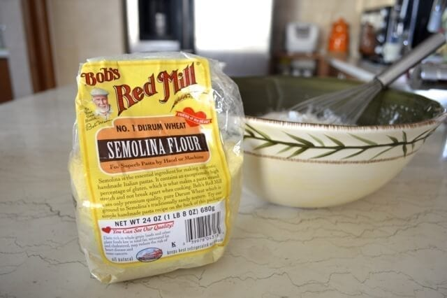 Homemade English Muffin Recipe - Semolina, by thewoksoflife,com