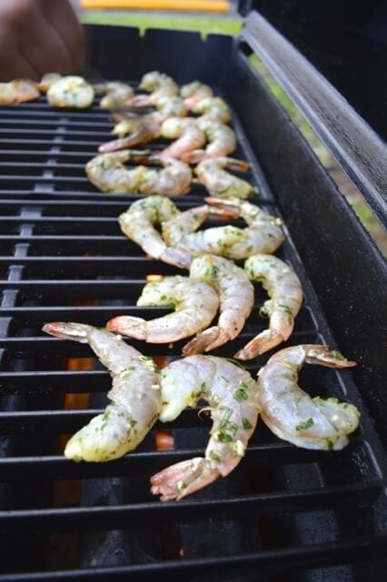 Herbed Citrus Grilled Shrimp and Scallops, by thewoksoflife.com