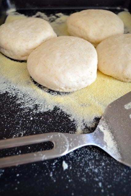 Homemade English Muffin Recipe by thewoksoflife,com