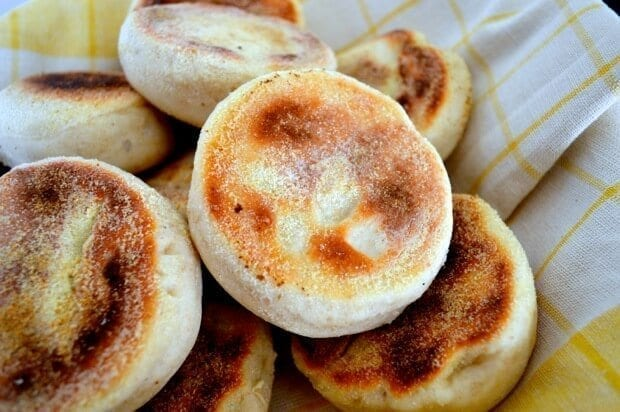 Homemade English Muffin Recipe, by thewoksoflife,com