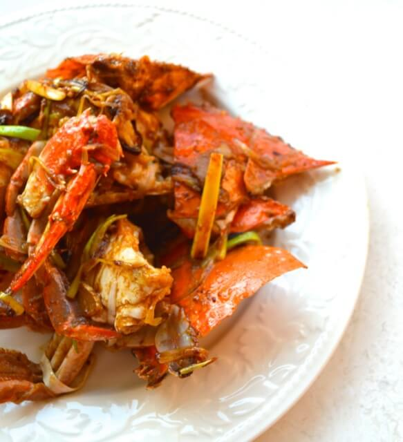 how to make cantonese ginger scallion crab