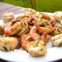 Herbed Citrus Grilled Shrimp and Scallops