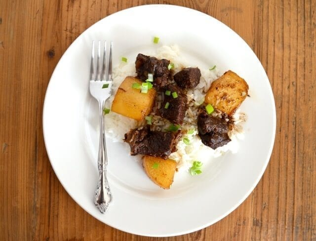 Chinese Braised Beef with Turnips - The Woks of Life
