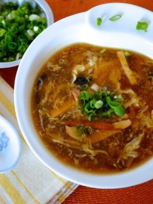 "Hot and Sour Soup - A Chinese Takeout ""Standard"" by thewoksoflife.com"