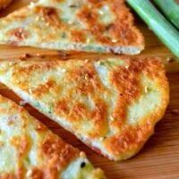 Savory Chinese Turnip Pancakes