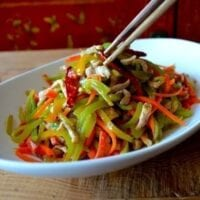 Shredded Pork Stir-Fry, An Easy Yu Xiang Rou Si, by thewoksoflife.com