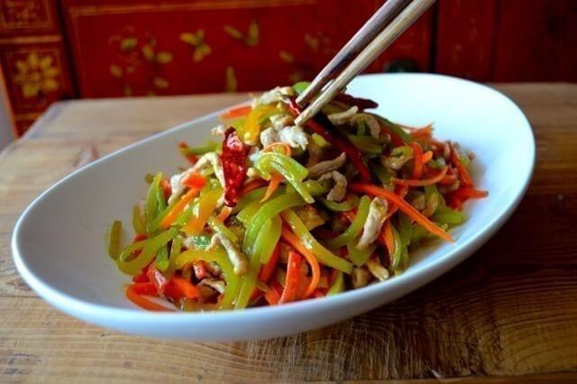 Shredded Pork Stir-Fry, An Easy Yu Xiang Rou Si | The Woks