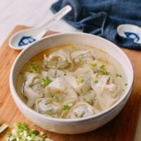 Wonton Soup Recipe, thewoksoflife.com