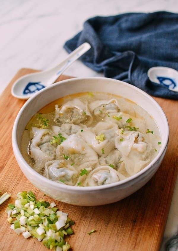 Wonton Soup Recipe, thewoksoflife.com