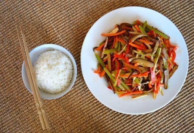 Vegetable Five Spice Tofu Stir-Fry - The Woks of Life