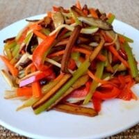 Vegetable Five Spice Tofu Stir-Fry