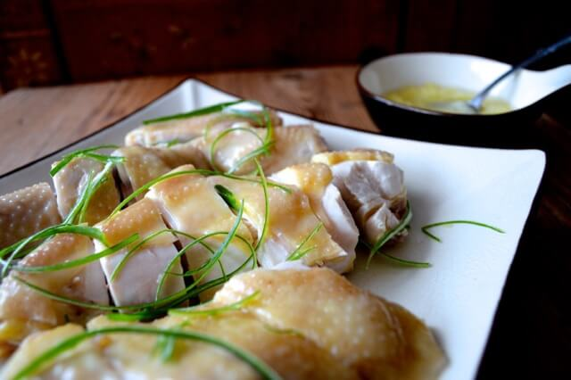 Chinese New Year Menu - the Compromise - Cantonese poached chicken by thewoksoflife.com
