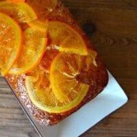 Citrus Cake w/ Candied Oranges